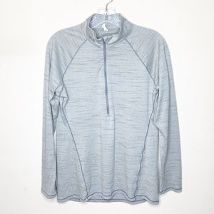 Under Armour Gray 1/4 Zip Long Sleeve Pullover